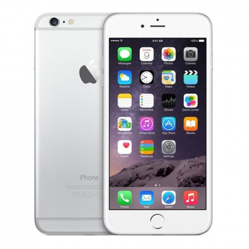 Pre-Owned iPhone 6 Plus Silver GSM UNLOCKED 128GB (MGAQ2LL/A) (2014)