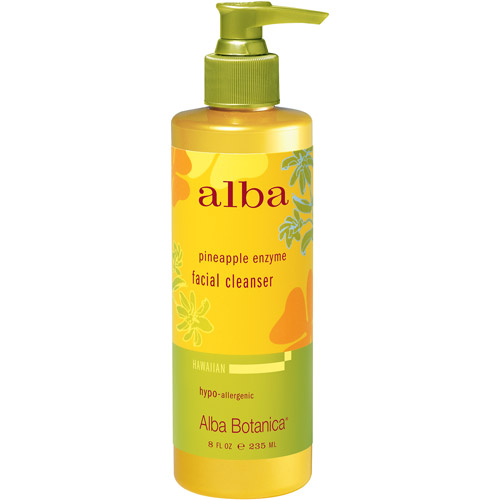 Alba Hawaiian Facial Cleanser, Pineapple Enzyme, 8 fl oz