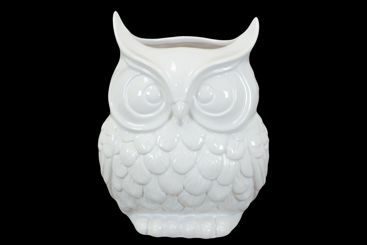 Urban trends ceramic owl vase walmart reviewsmspy