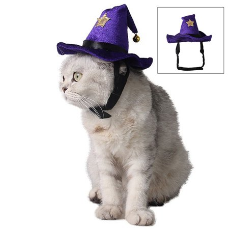Halloween Pet Hat,Legendog Funny Creative Pet Costume Hat Cat Party Hat Dog Party Hat Pet Accessories for Wizard Cosplay