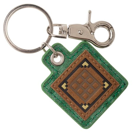 Crafting Table Minecraft Keychain Canvas Minecraft Accessories Gaming Accessories - Gaming Keychain Minecraft Gift
