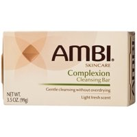6 Pack - Ambi Complexion Cleansing Bar Soap, 3.5 oz
