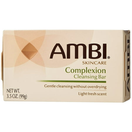 6 Pack - Ambi Complexion Cleansing Bar Soap, 3.5