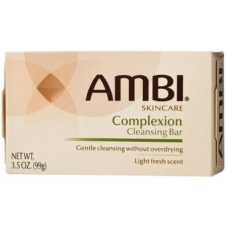 2 Pack - Ambi Complexion Cleansing Bar Soap, 3.5 oz Bath Complexion Discs
