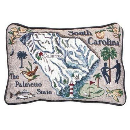 South Carolina USA States Decorative Tapestry Toss Pillow - Walmart.com