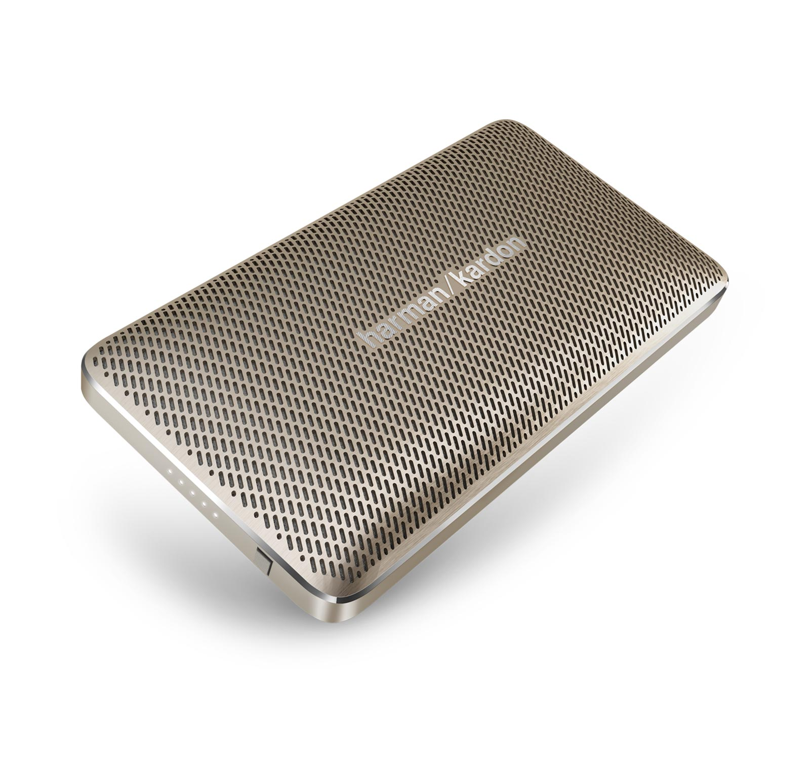 Harman Kardon Esquire Mini Gold Portable Bluetooth Speaker w/Speakerphone