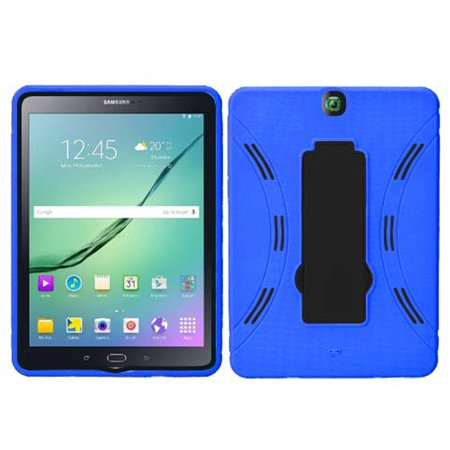 Samsung Galaxy Tab S2 9.7 Hybrid Silicone Case Cover Stand Navy ()
