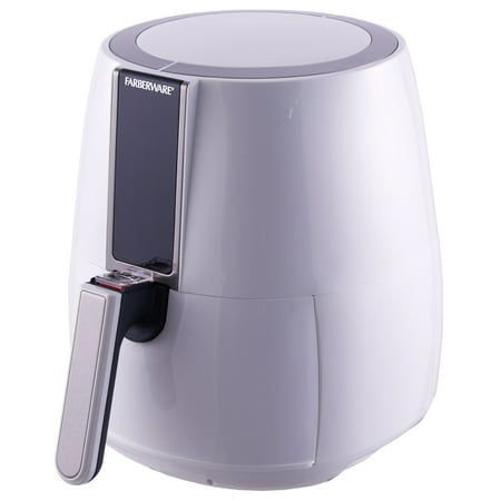 Farberware 3.2-Quart Digital Oil-Less Fryer, White - Walmart.com