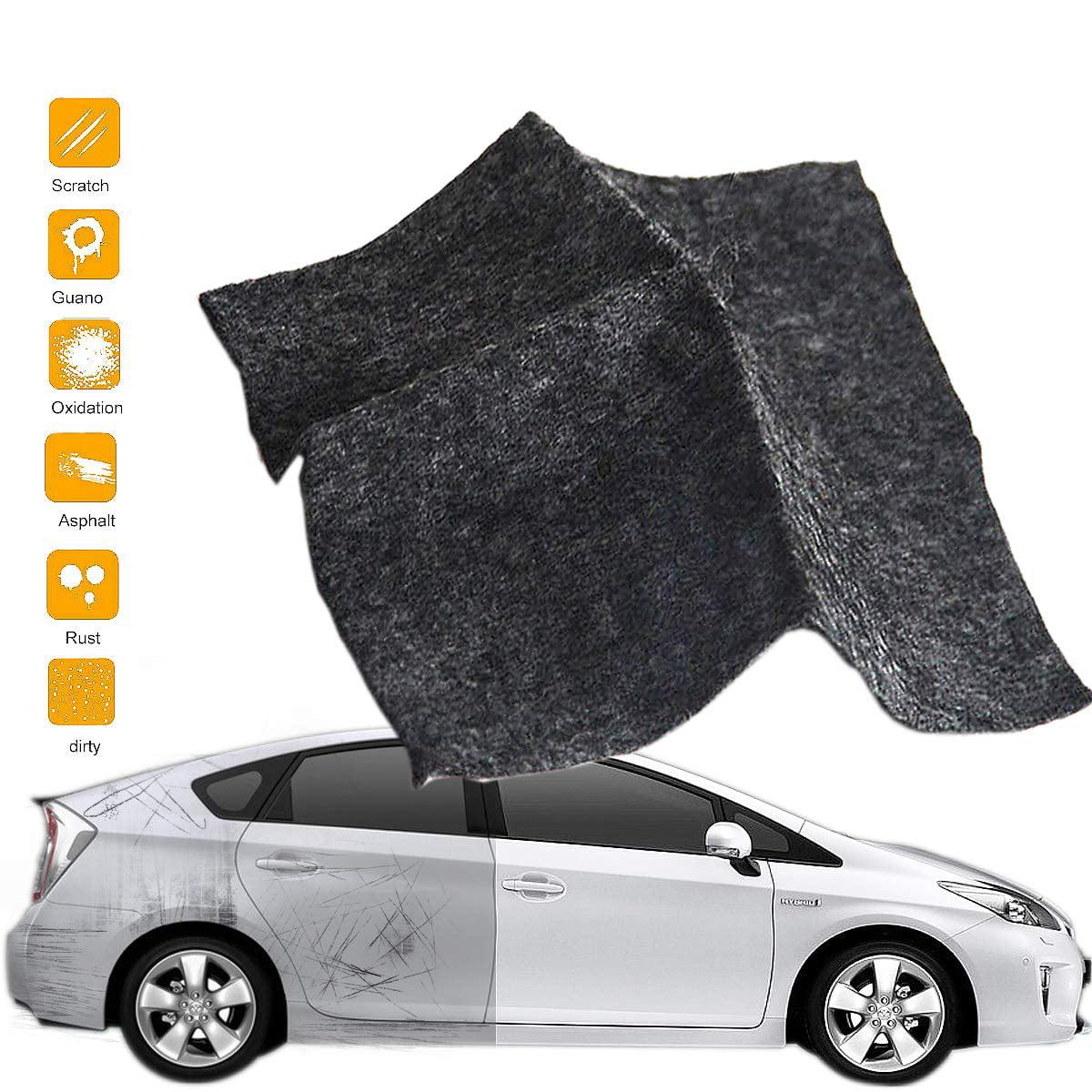 Eagle smart 2 packs Car Scratch Remover Nano-Magic Cloth for Car Care