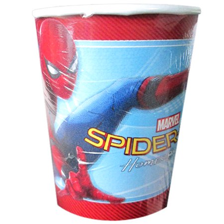 Spiderman Paper Cups (Spider-Man 'Homecoming' 9oz Paper Cups)