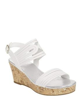033ec0cd2a Product Image Wonder Nation Girls' Wedge Sandal