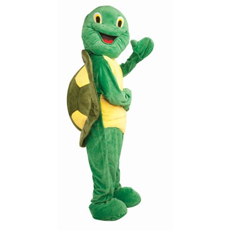 Turtle Mascot Adult Halloween Costume, Size: Men's - One Size