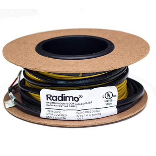 Radimo  10 Square Feet 120V Electric Floor Heating Cable
