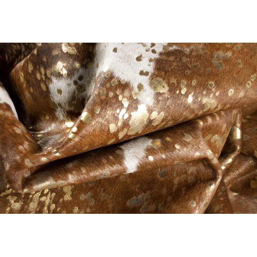 Foundry Select Baltazar Scotland Handwoven Flatweave 6' x 7' Gold/Brown/White Area Rug