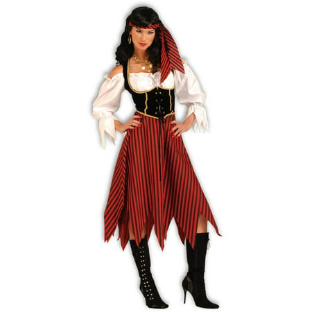 Pirate maiden women's adult halloween costume M - Easy Halloween Costumes For Older Adults