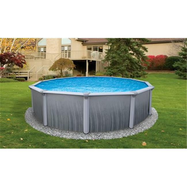 NB2612 Martinique 18' Round 52'' Above Ground Pool by Blue Wave