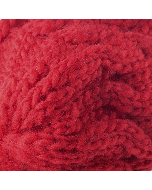 66d8463d70a Beanie Hat for Women by Zodaca Knit Winter Warm Crochet Braided Cap - Red