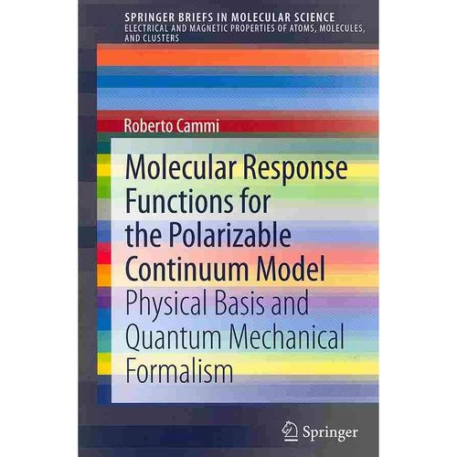 Molecular Response Functions for the Polarizable Continuum Model: Physical Basis and Quantum Mechanical Formalism