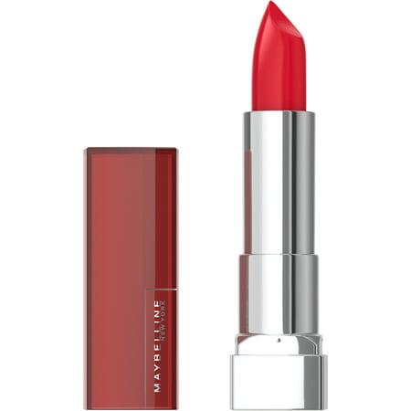 Maybelline New York Color Sensational Lipstick, Red Revolution 630 Juicy Rouge Lip Color