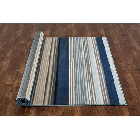 1330 Blue 7 10x10 2 Area Rug Carpet Large New Walmart Com