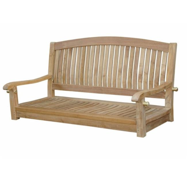 Anderson Teak SW-048R Del-Amo 48 in. Round Swing Bench by Anderson Teak