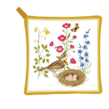 Meadowlark Potholder