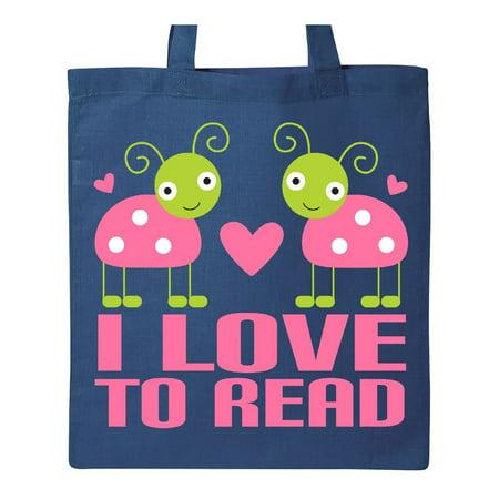 Ladybug I Love To Read Tote Bag ()