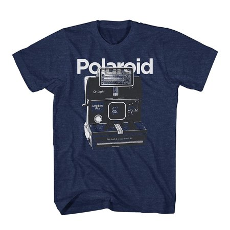 Polaroid Instant Official Camera Shirt - Polaroid Throwback Classic Mens T-Shirt (Medium) - Throwback Clothes Ideas