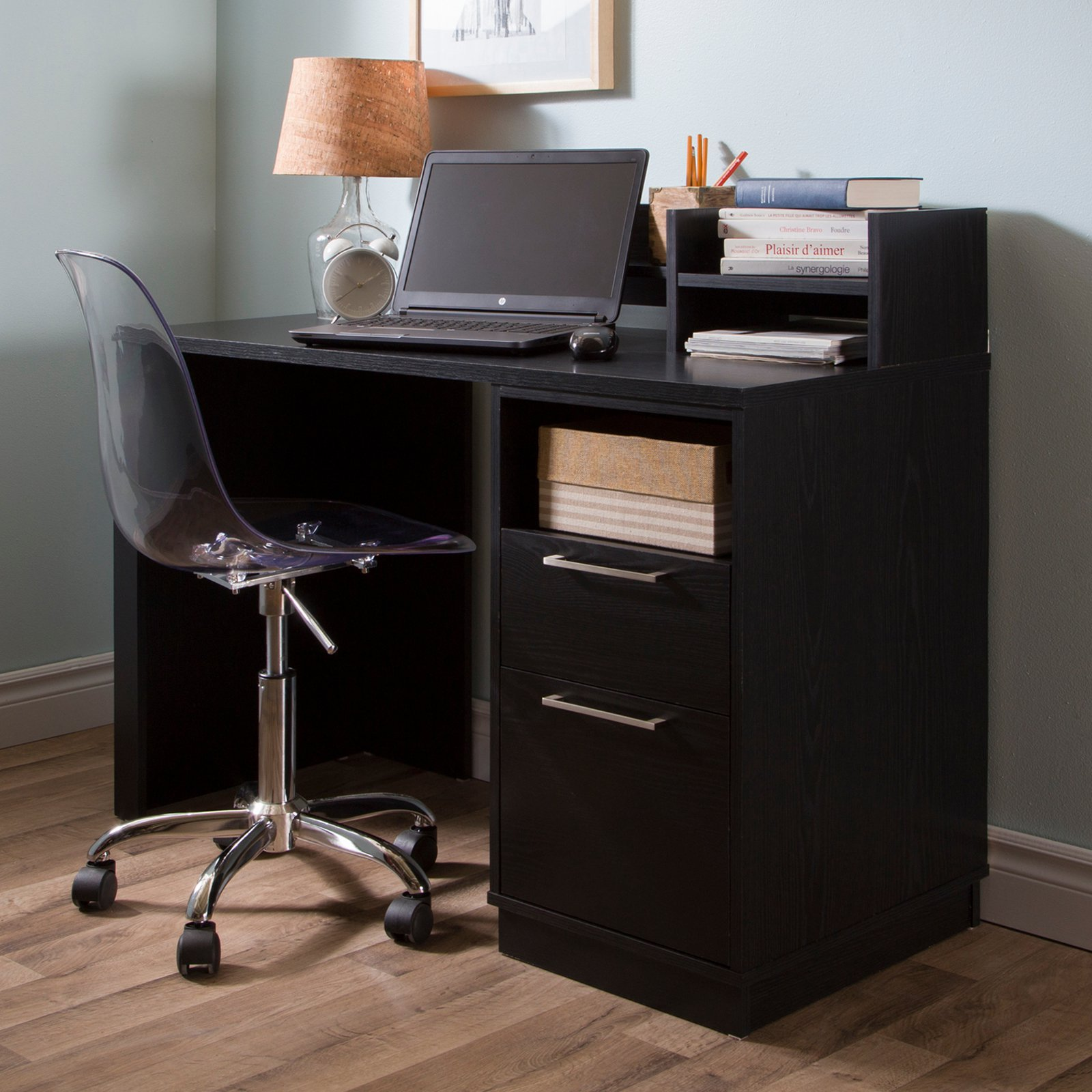Annexe Desk With Clear Office Chair By South Shore
