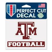 "Texas A&M Aggies WinCraft 4"" x 5"" Perfect Cut Sport Slogan Decal"
