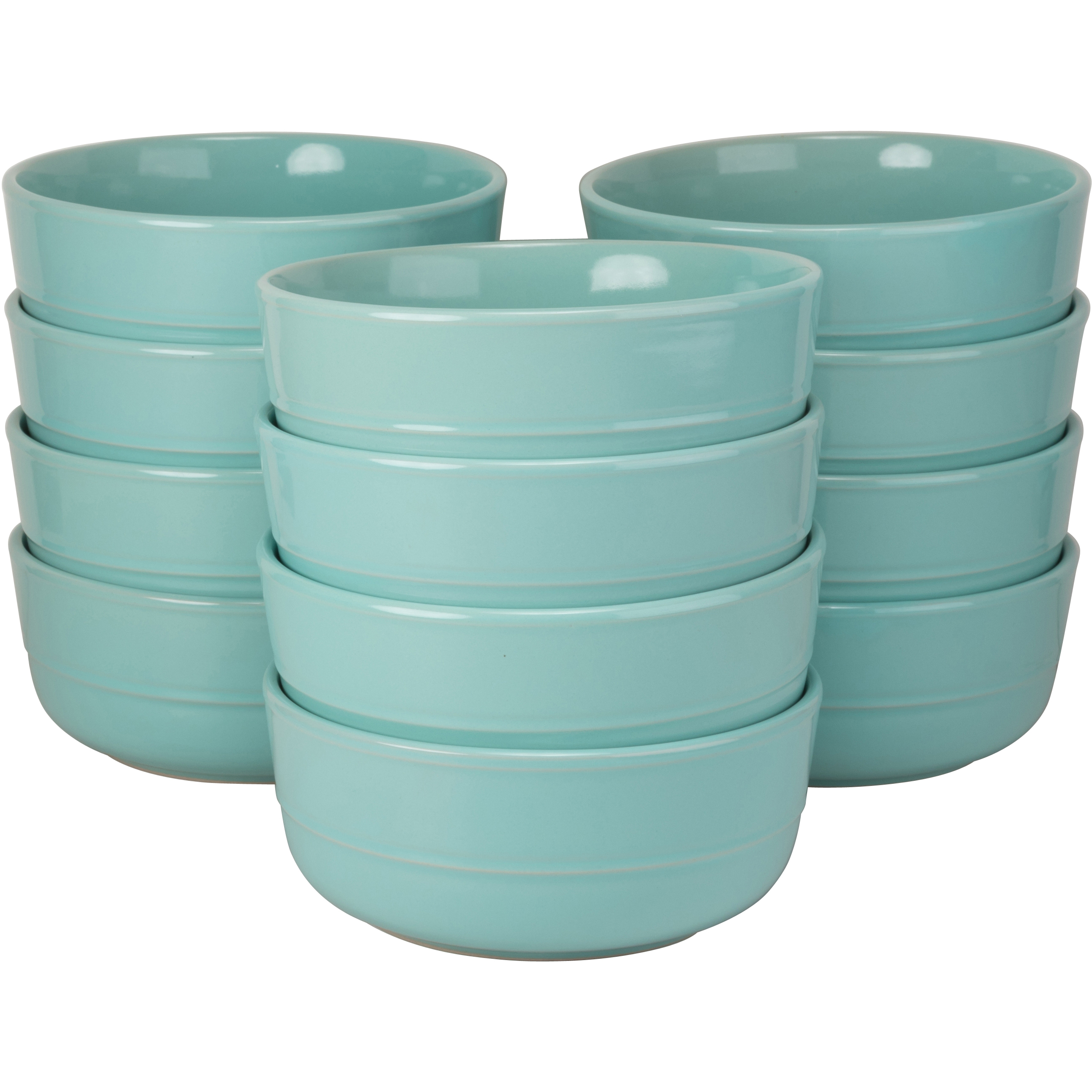 10 Strawberry Street Double Line Catering Pack Set 12 Seafoam Cereal Bowls 24 oz  sc 1 st  eBay & 10 Strawberry Street Double Line Catering Pack Set 12 Seafoam Cereal ...