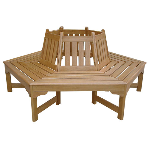 Wrap Bench wooden tree hugger bench - walmart