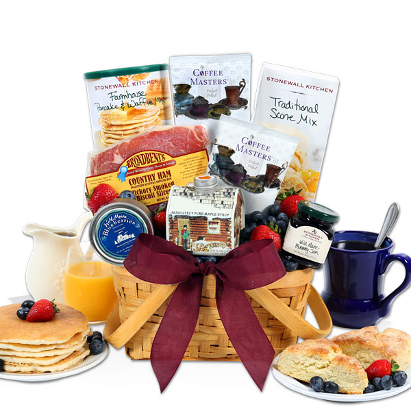 Christmas Morning Breakfast Gift Basket Walmart Com