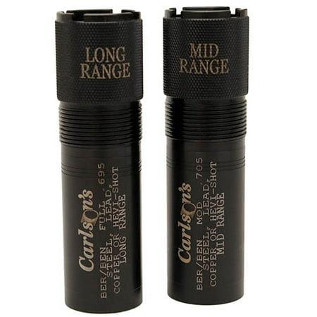 Carlsons Waterfowl 12 Gauge 2 Pack Choke Tubes Beretta/Benelli Mobil (Choke Tool 12 Gauge)