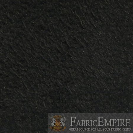 Mid Back Multifunction Fabric - 1/8 Foam Backed Jet Black Synergy Faux Suede Headliner Fabric 60