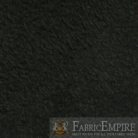 1/8 Foam Backed Jet Black Synergy Faux Suede Headliner Fabric 60
