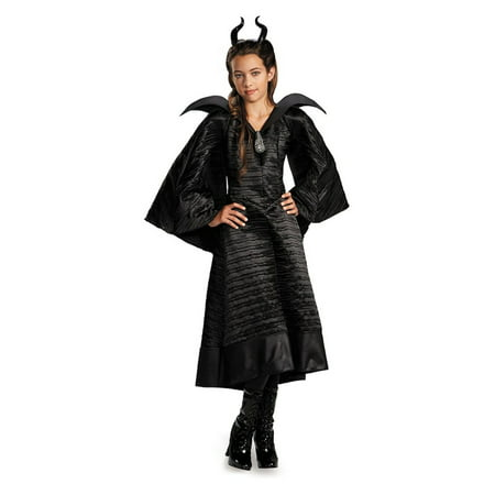 Maleficent Christening Gown Girls Costume deluxe](Maleficent Costume For Women)