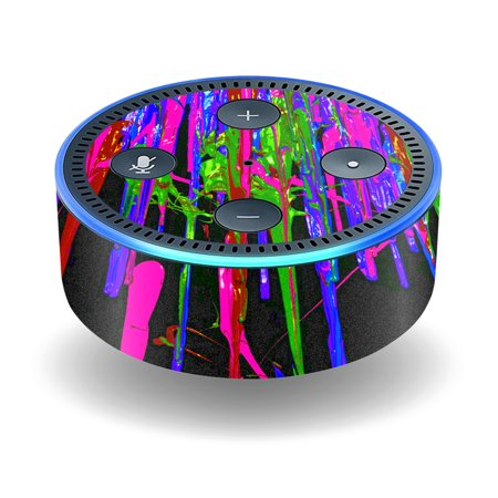 Skin Decal Wrap For Amazon Echo Dot  2Nd Generation  Stickers Drips
