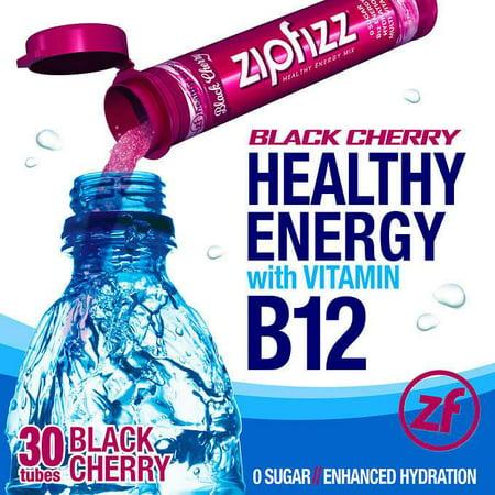 Zipfizz Healthy Energy Drink Mix, 30 Tubes-Fruit Punch (Rockstar Fruit Punch Energy Drink)