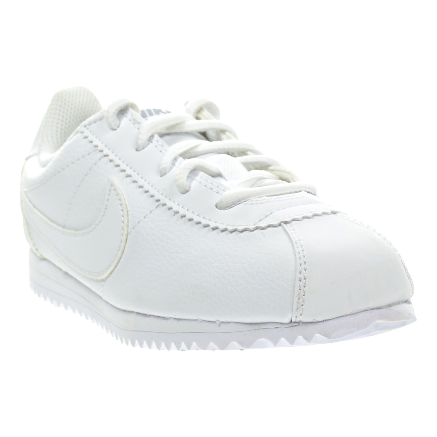 Nike Cortez (PS) Little Kid's Shoes White/Wolf Grey/White 749504-100