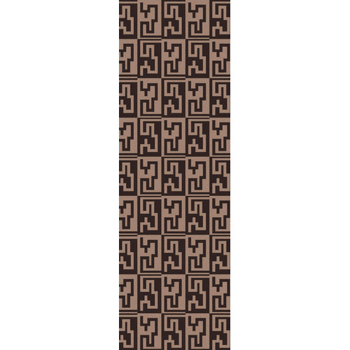 Surya Frontier Stone/Dark Brown Geometric Area Rug