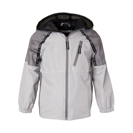 Zip Up Windbreaker Jacket with Mesh Lining (Big -