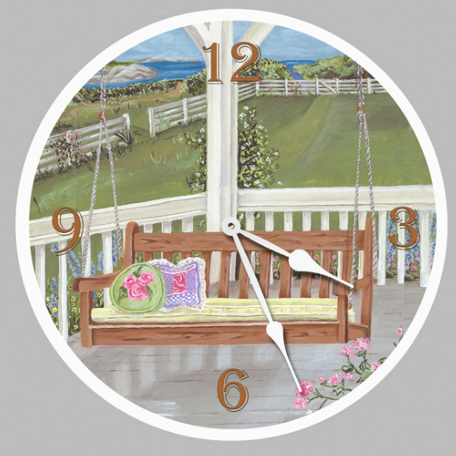 Lexington Studios Porch Swing Wall Clock
