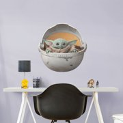 The Child in Pod - Star Wars: The Mandalorian - Life-Size Removable Wall Decal
