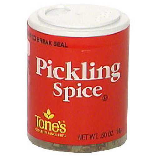 Tone's Pickling Spice, 0.50 oz (Pack of 6)