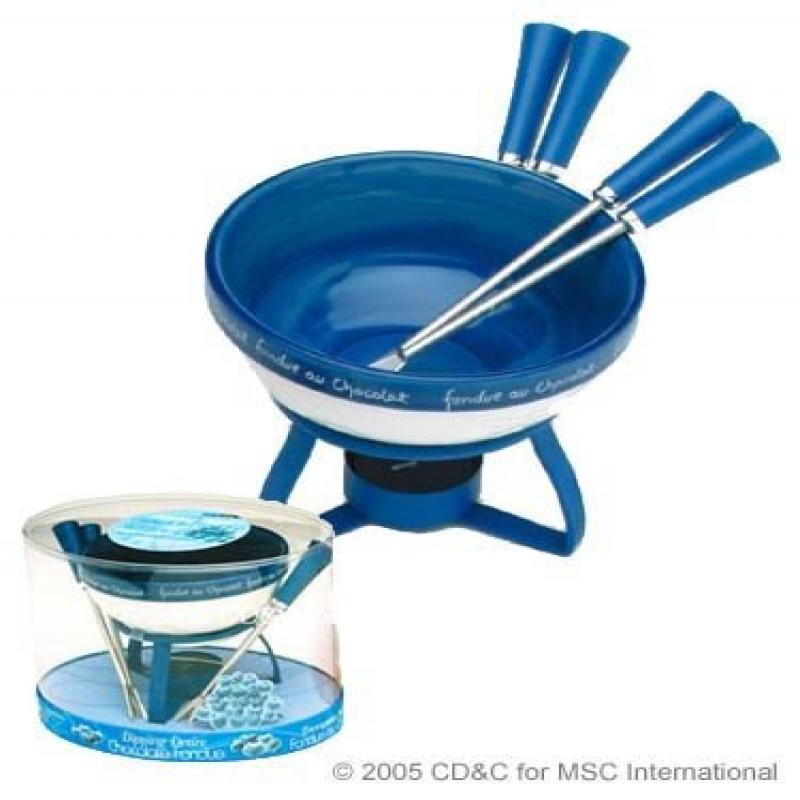 Joie Dipping Desire Chocolate Fondue Set Blueberry by MSC by