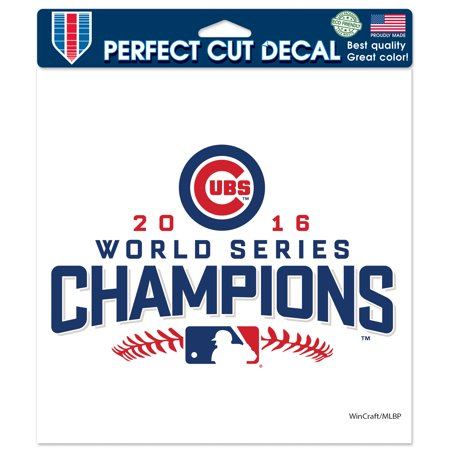 Chicago Cubs WinCraft 2016 World Series Champions 8