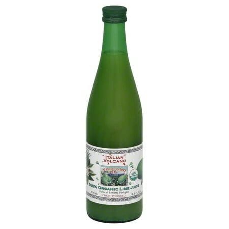 Dream Foods International Italian Volcano  Lime Juice, 16.9 oz (Juices International)
