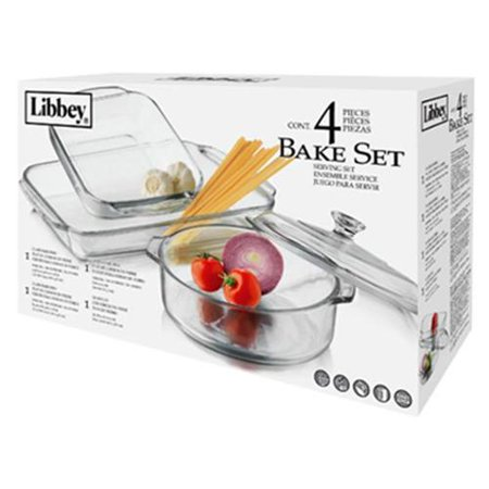 4Pc Bakeware Set by