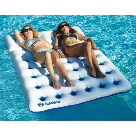 Solstice AquaWindowDuo Floating Mattress FashionFloat for Swimming - Double Floating Mattress